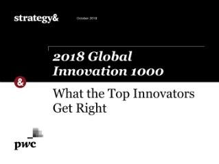 Global Innovation 1000   Most Innovative Companies   Strategy&
